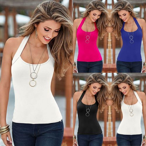 Top Vest Sleeveless Tank Tops