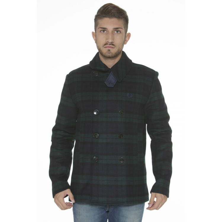 Man Greatcoat Fred Perry