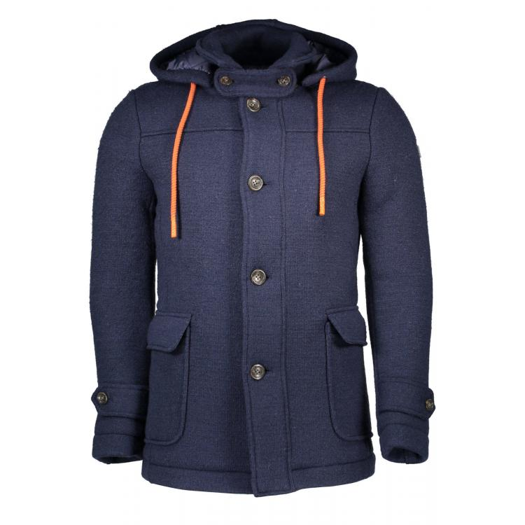 Man Greatcoat Guess Jeans