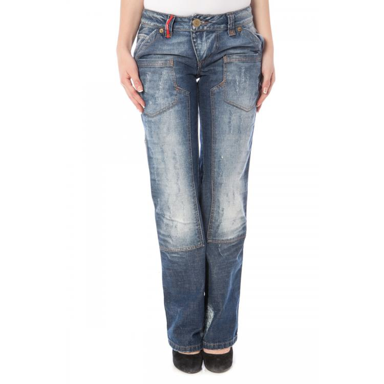 Woman Jeans Clink