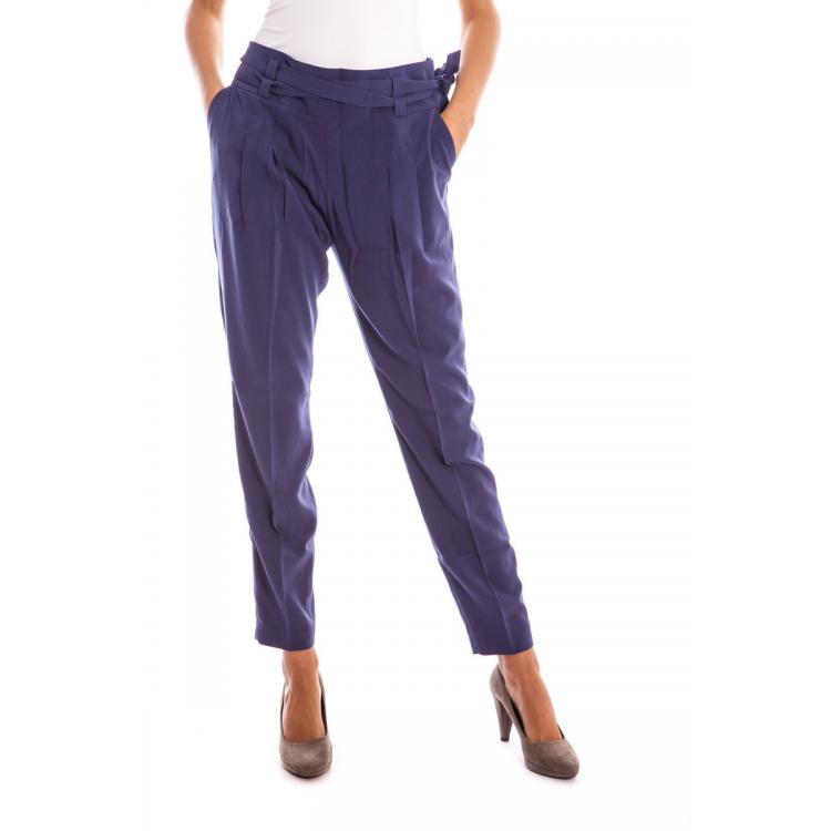 Woman Trousers Lavand.